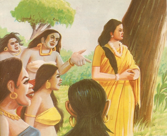 Ramayana Part-7  Lanka Dahan (9)