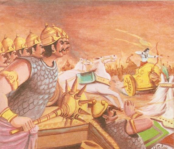 Ramayana Part-9  Lanka Vijay (11)