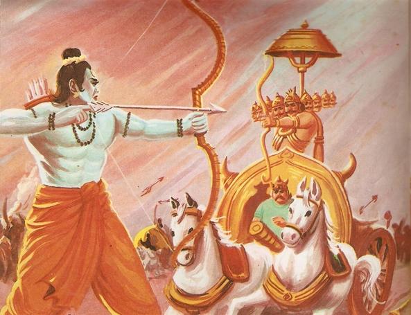 Ramayana Part-9  Lanka Vijay (12)