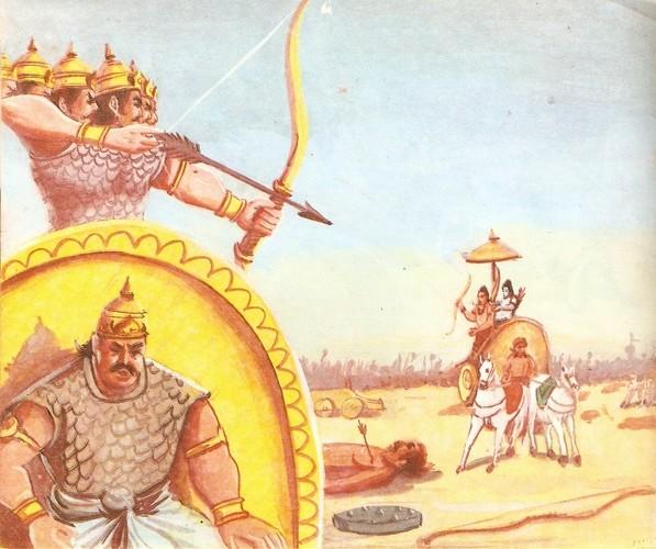 Ramayana Part-9  Lanka Vijay (4)