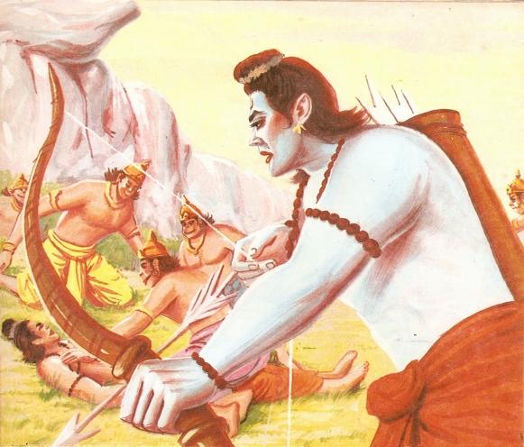 Ramayana Part-9  Lanka Vijay (5)