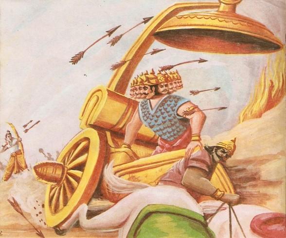 Ramayana Part-9  Lanka Vijay (6)