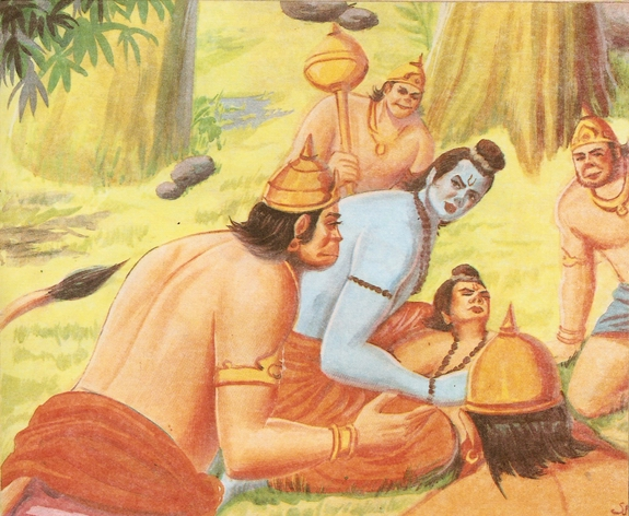Ramayana Part-9  Lanka Vijay (7)