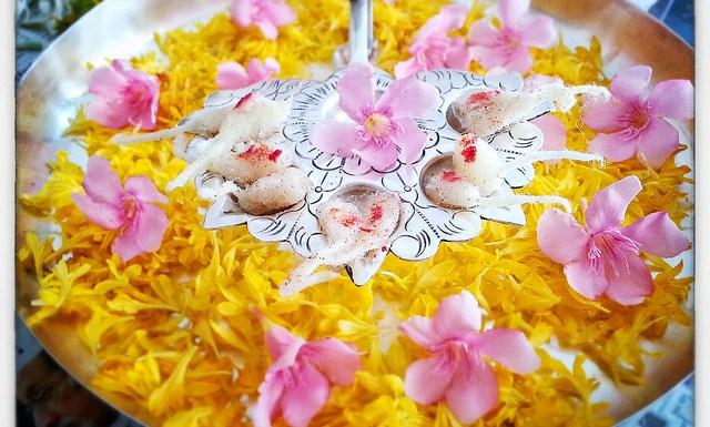 Flower-Decoration-Pooja