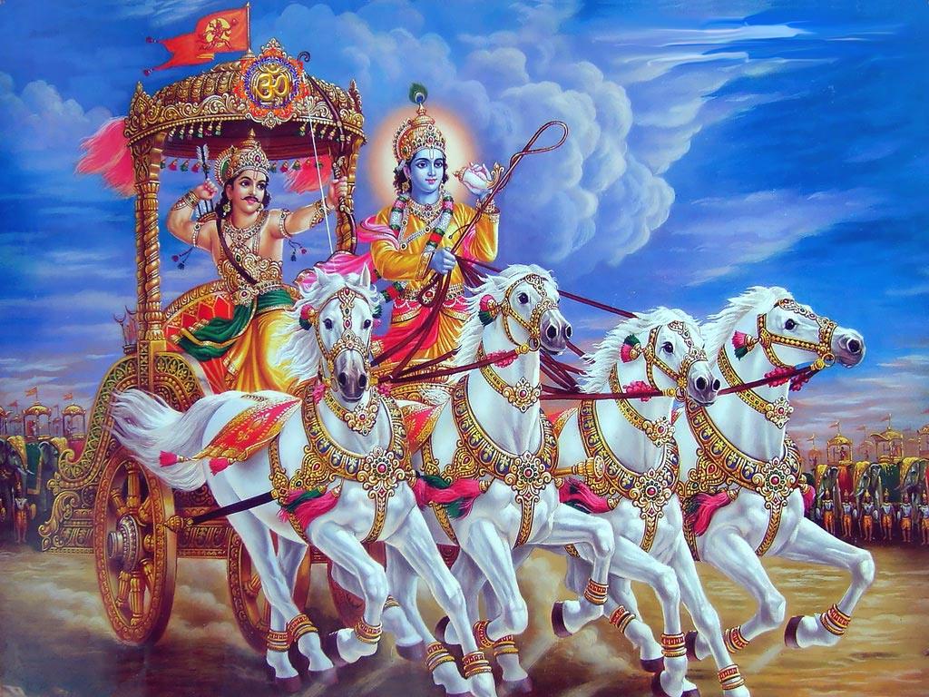 Krishna-in-Mahabharat