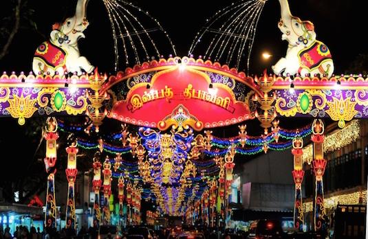 Singapore Diwali Decorations | How Diwali Is Celebrated Outside India