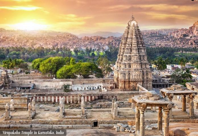 Virupaksha_Temple,Karnataka