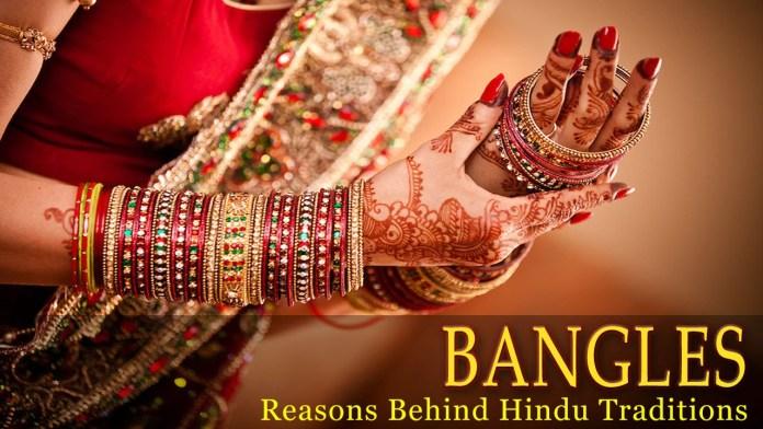 Why do Indian women wear Bangles