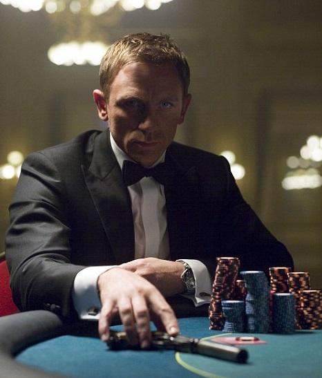 James Bond in Casino Royal