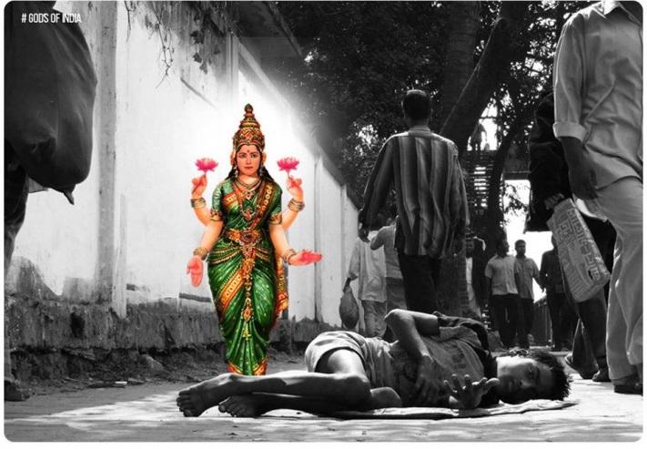 lakshmi-real-god