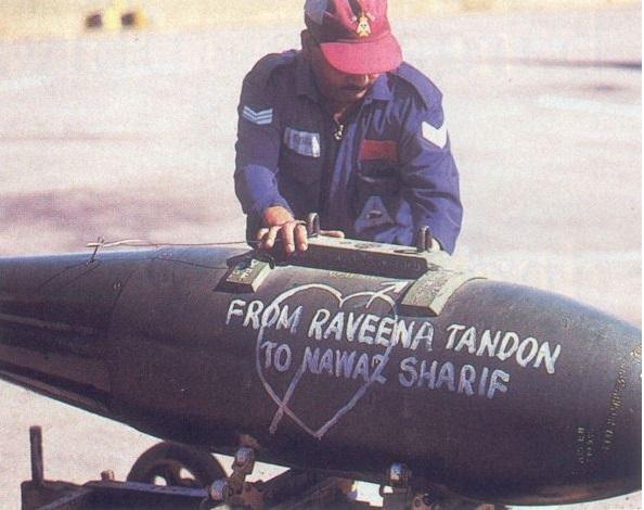 ravina tandon army