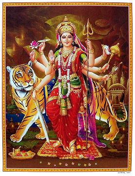 Yogamāyā - Durga-devi