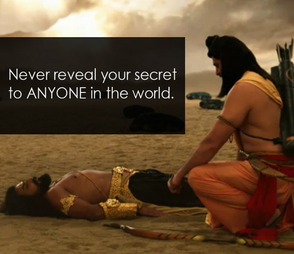 Ravana's teaching to Laxman