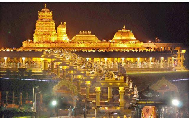the-tirupati-balaji-temple-and-the-kashi-vishwanath-temple