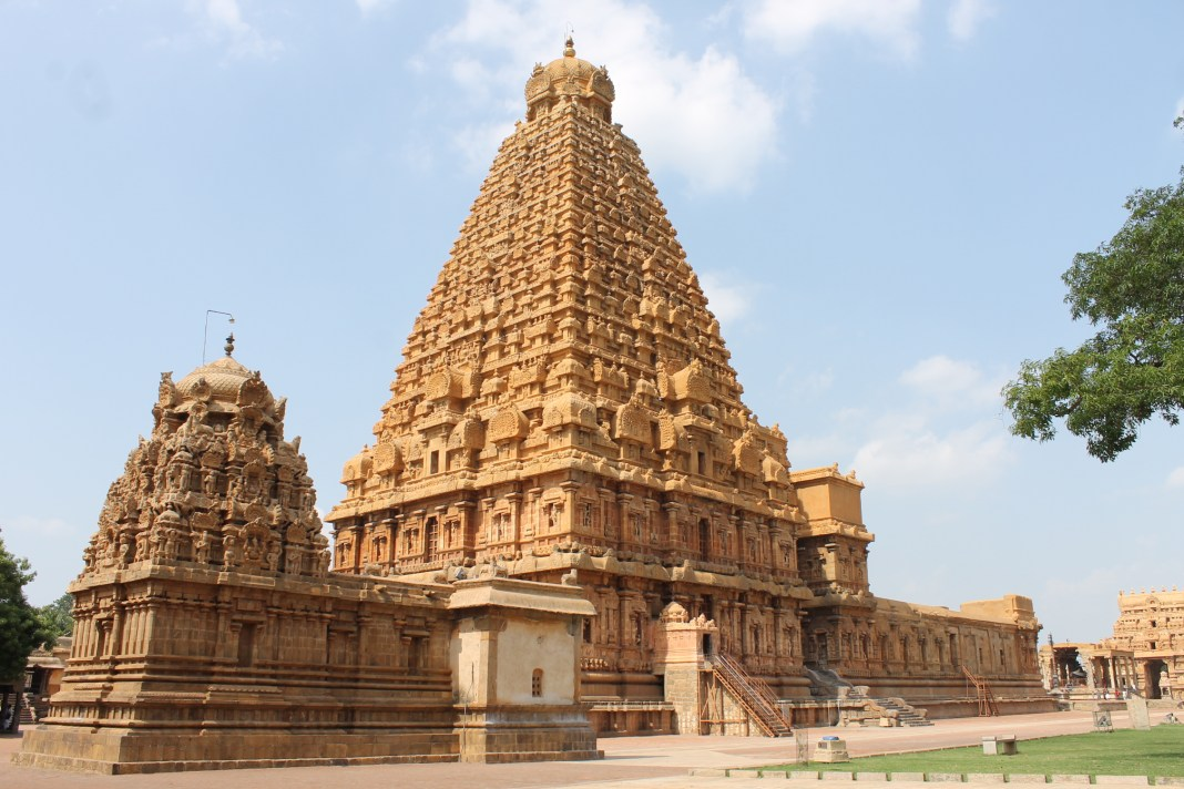 """A_Side_View_of_Brihadisvara_Temple"""