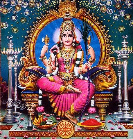 lalita mata 1 - Shri Lalita Panchakam