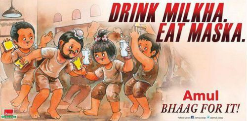 186.8 - 50 Impressive Bollywood-Inspired Amul Ads!