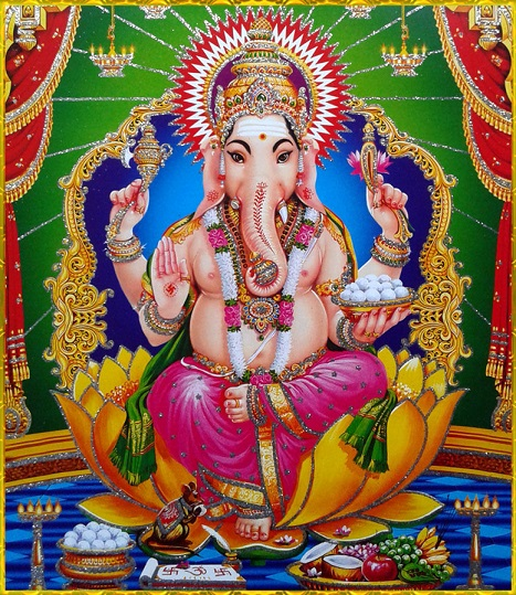 Hindu God Ganesha S Family Wordzz