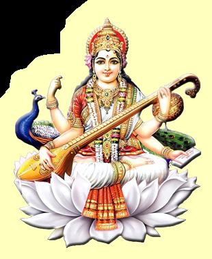 Saraswati-PNG-HD