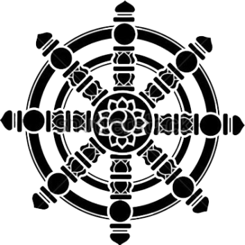 Wheel-of-Dharma-PNG-Clipart
