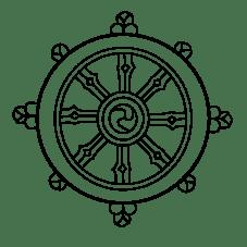 Wheel-of-Dharma-PNG-Image