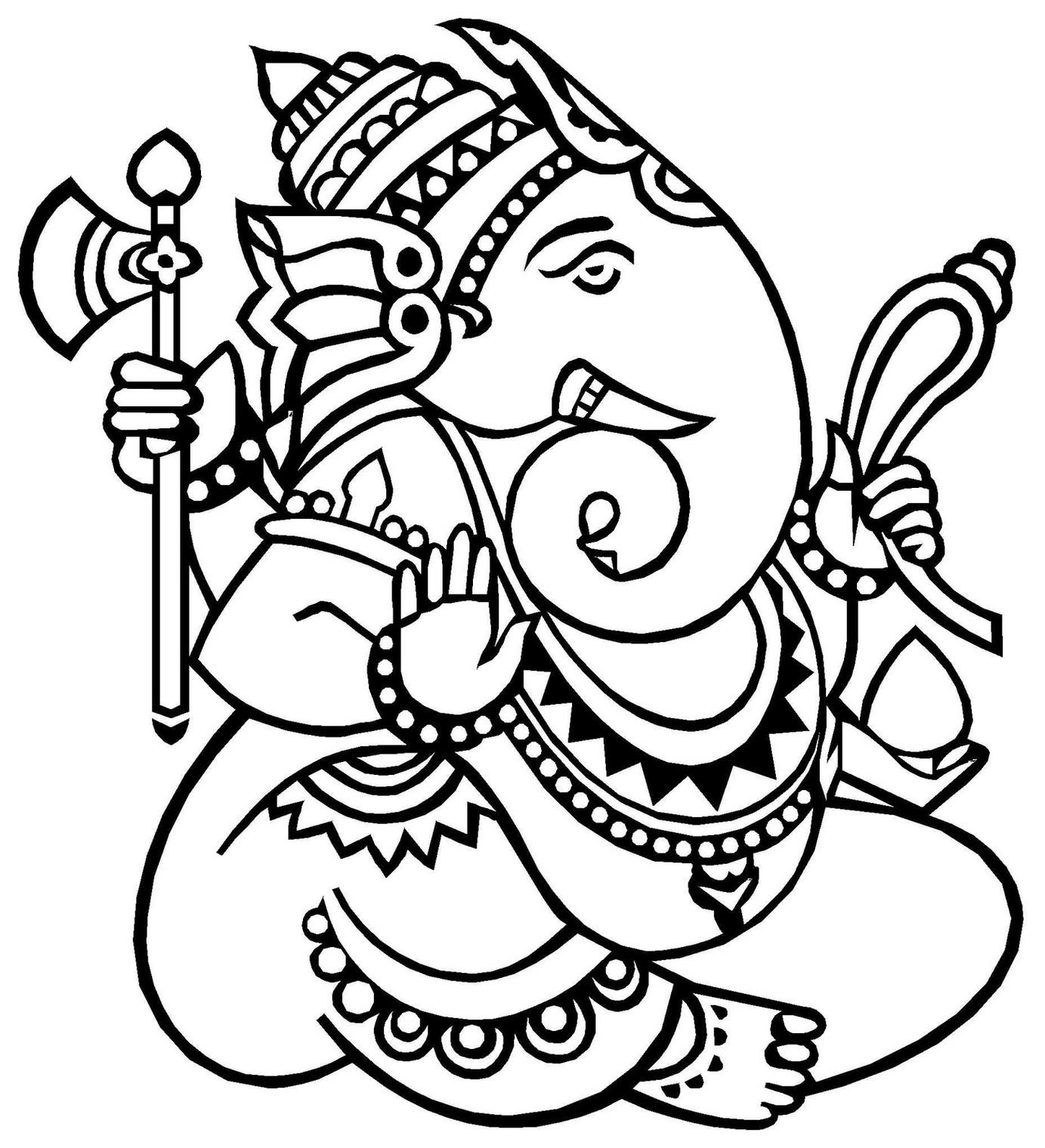 Amazing Ganesh Clipart