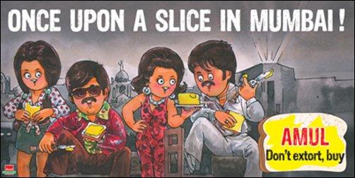 amul ad ouatim - 50 Impressive Bollywood-Inspired Amul Ads!