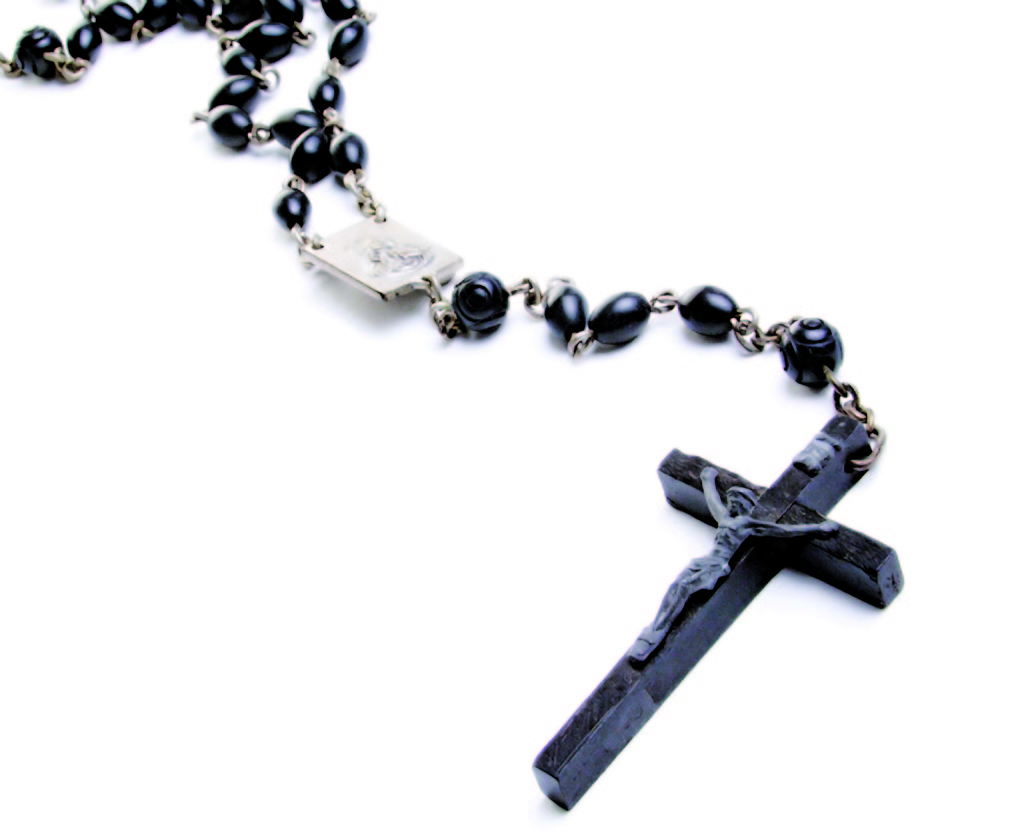 Lovely looking black Rosary