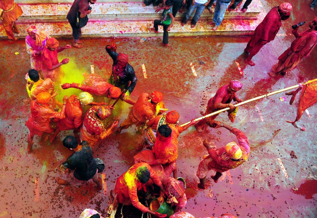 Holi Festival awesome wallpaper in HD