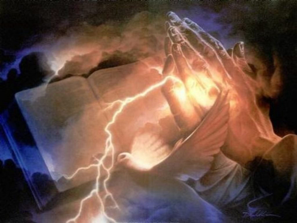 Lovely closeup image of Holy spirit