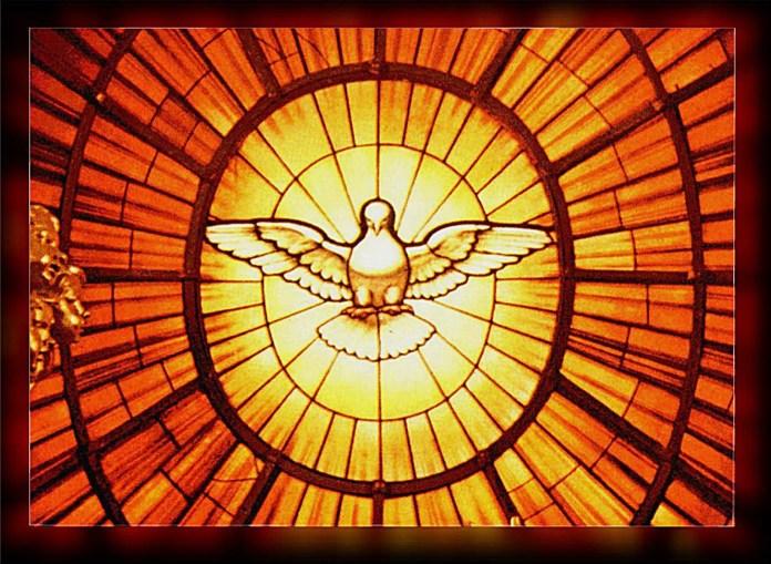Holy spirit pentecost poster