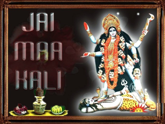 Kali Maa awesome picture with quotes