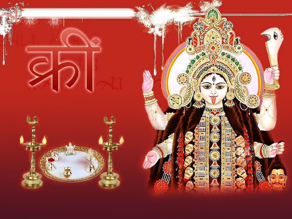 Awesome poster of maa kali desktop