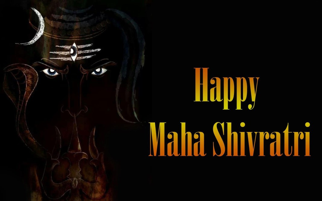 Shivratri wishes image in 1920x1200 resolution