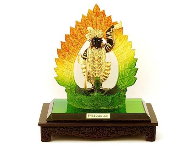 Lovely statue of god Shreenathji