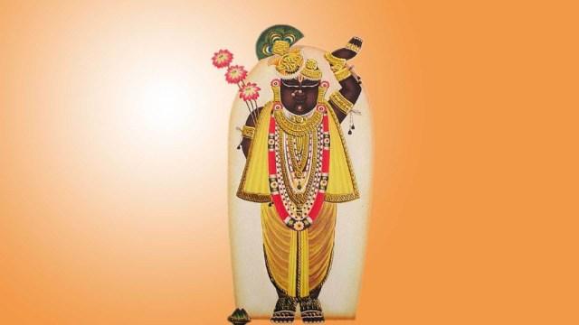 Lord Shrinathji image with 1920x1080 size