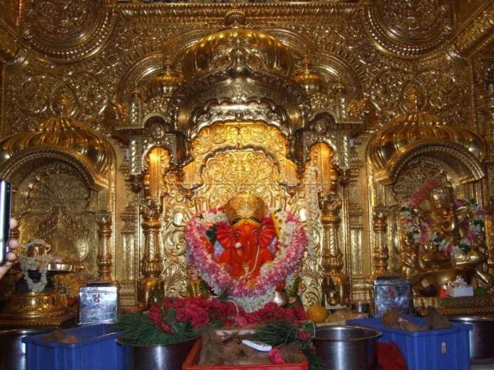 Siddhivinayak Ganpati amazing decorated
