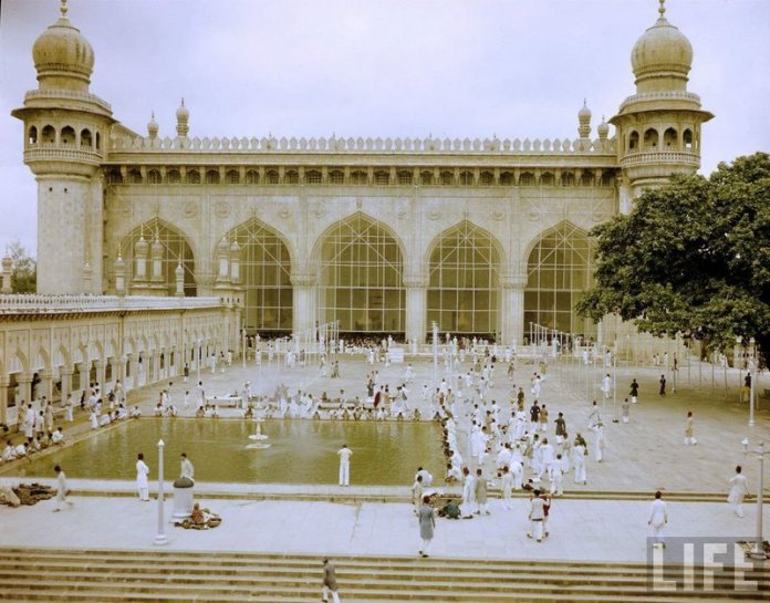 20. Mecca Masjid of Hyderabad, 1948.