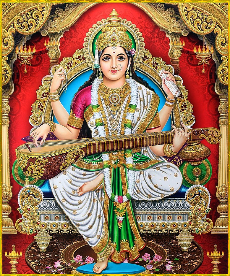 Beautiful Saraswati Devi