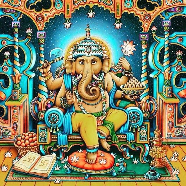Cosmic Ganesha