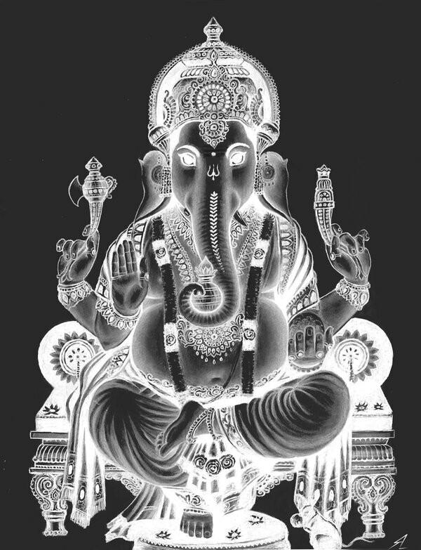 Ganesh X-ray Image