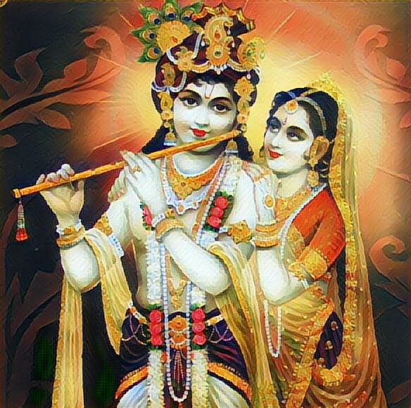 Radhe Krishna Paintings