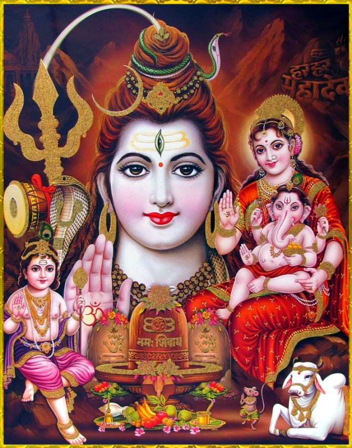 Shiva Family Together