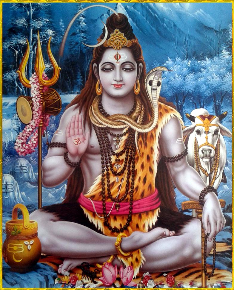 Shiva In Dhyaan