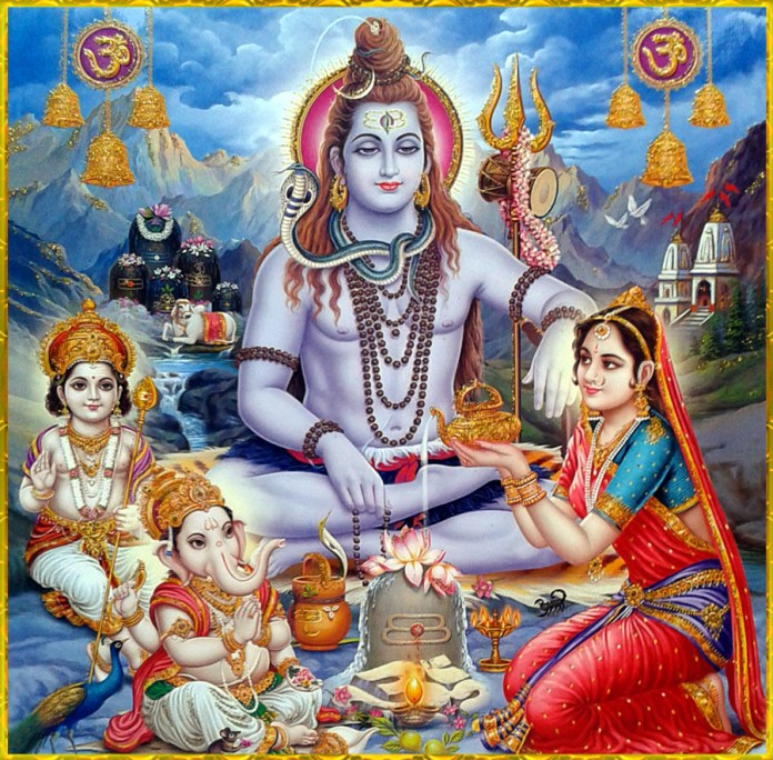 Shiva Puja By Family