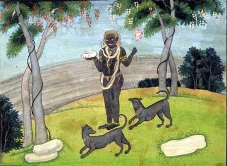 Shiva as Bhairava