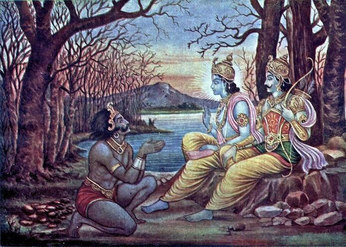 Krishna_orders_Mayasura_to_build_a_palace_for_the_Pandavas