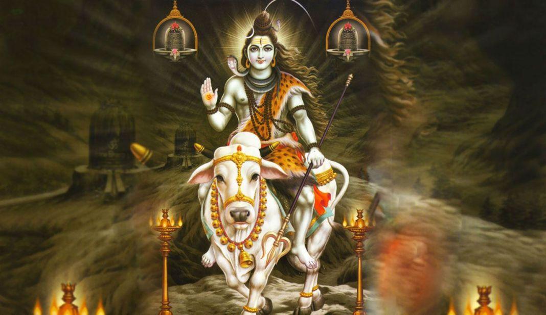 Lord Shiva on Nandi