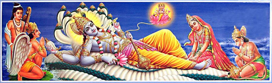 Vishnu Sleeping