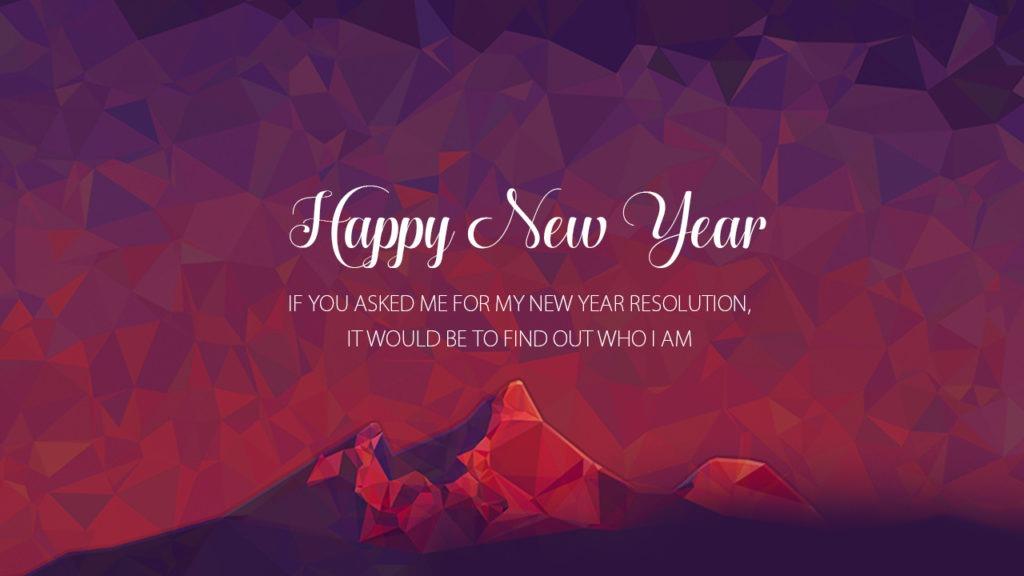 Happy New Year Resolution Wallpaper